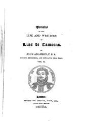 Memoirs of the Life and Writings of Luis de Camoens: Volume 2