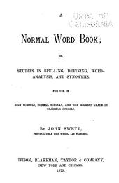 A Normal Word Book