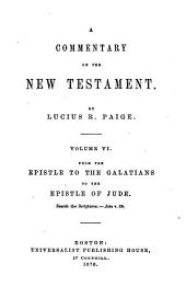A Commentary on the New Testament: Volume 6