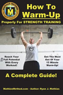 How to Warm Up Properly for Strength Training PDF