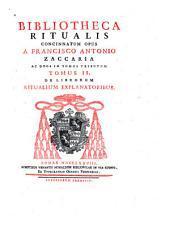 Bibliotheca ritualis: Volumes 1-2