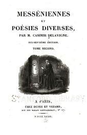 Messéniennes et poésies diverses: Volume3