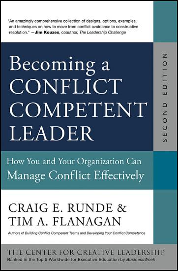 Becoming a Conflict Competent Leader PDF