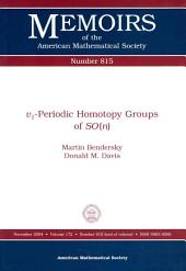 V1-periodic Homotopy Groups of SO(n)