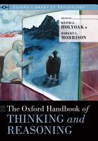 The Oxford Handbook of Thinking and Reasoning PDF