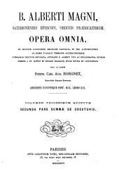 B. Alberti Magni Opera omnia: Volume 35
