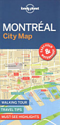Lonely Planet Montreal City Map PDF