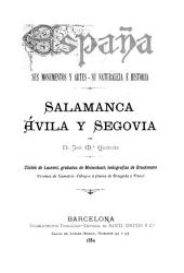 Salamanca, Ávila y Segovia