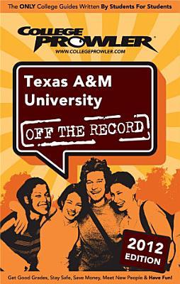 Texas A M University 2012 PDF