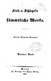 Fried. v. Schlegel's sämmtliche Werke: Gedichte, Band 9
