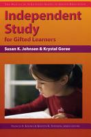 Independent Study for Gifted Learners PDF