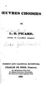 Œuvres choisies de L. B. Picard
