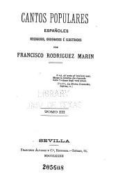 Cantos populares españoles: Volumen 3