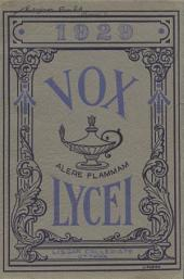 Vox Lycei 1928-1929