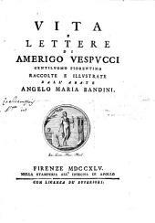 Vita e lettere di Amerigo Vespucci, gentiluomo fiorentino