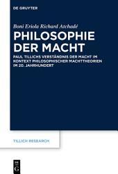 Philosophie der Macht PDF