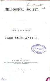 The Neo-Celtic Verb Substantive