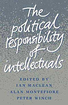 The Political Responsibility of Intellectuals PDF