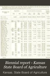 Biennial Report - Kansas State Board of Agriculture: Volume 8