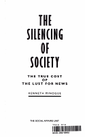The Silencing of Society PDF