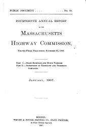 Annual Report ...: Volume 14, Part 1907
