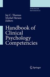 Handbook Of Clinical Psychology Competencies Book PDF