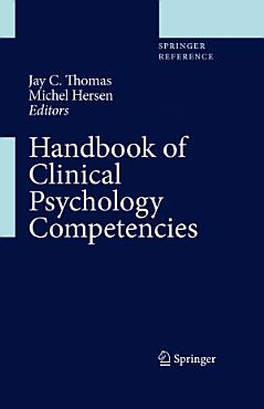 Handbook of Clinical Psychology Competencies PDF