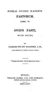 Ovidii Fastorum Libri VI