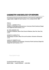 Chemistry and Biology of Heparin