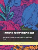 50 Color By Numbers Coloring Book