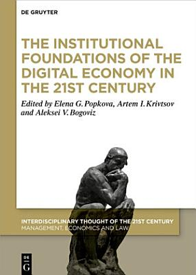 The Institutional Foundations of the Digital Economy in the 21st Century