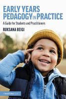 Early Years Pedagogy in Practice PDF