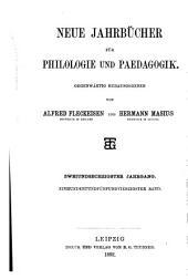 Neue Jahrbücher für Philologie und Paedagogik: Band 145