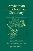 Amazonian Ethnobotanical Dictionary PDF