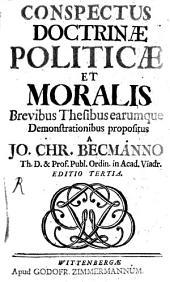 Conspectus Doctrinae politicae