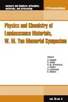 Physics and Chemistry of Luminescence Materials  W  M  Yen Memorial Symposium PDF