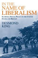 In The Name of Liberalism PDF