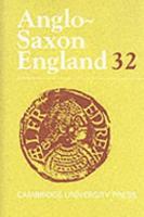 Anglo Saxon England  Volume 32 PDF