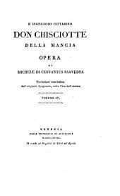 L'ingegnoso cittadino don Chisciotte della Mancia: Volume 4