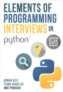 Elements of Programming Interviews in Python Book