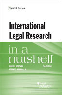 International Legal Research in a Nutshell PDF
