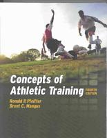 Concepts of Athletic Training PDF