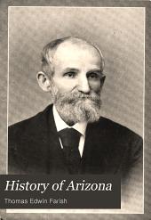 History of Arizona: Volume 1