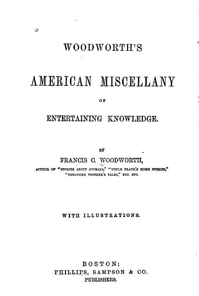American Miscellany Of Entertaining Knowledge