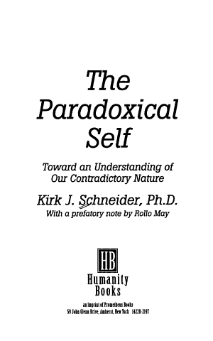 The Paradoxical Self