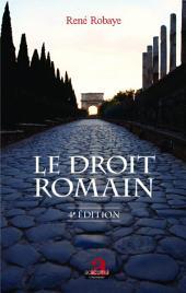 Le droit romain: (4e édition)