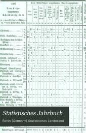 Statistisches Jahrbuch: Band 22