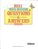 More Big Book of Questions and Answers