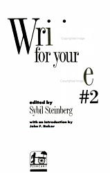 2 Writing for Your Life PDF
