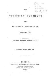 The Christian Examiner and Religious Miscellany